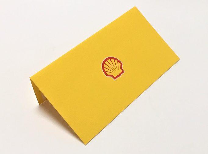 Конверт на дизайнерской бумаге с нанесением методом шелкографии.