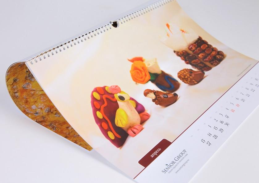 Перекидной настенный календарь